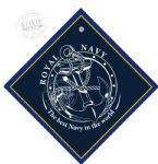 Metal car hangers -Royal Navy anchor